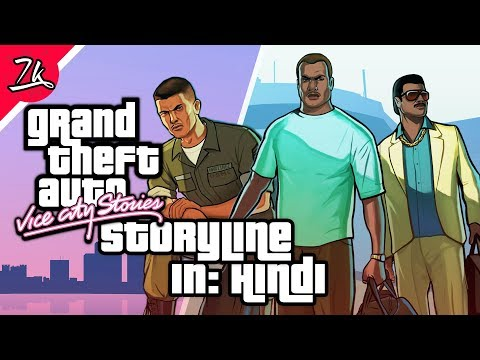GTA: Vice City Stories Storyline in Hindi | Story before GTA Vice City