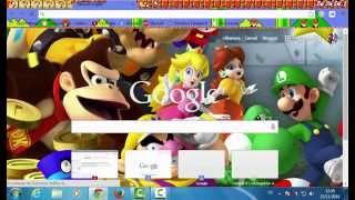 Tutoriel : Comment mettre un fond d'écran sur google chrome ?