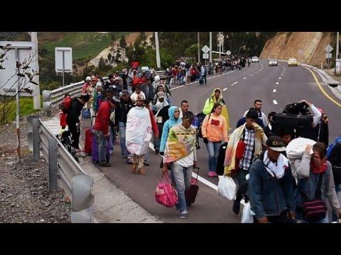 Ecuador convoca a reunión de 13 países por migración venezolana