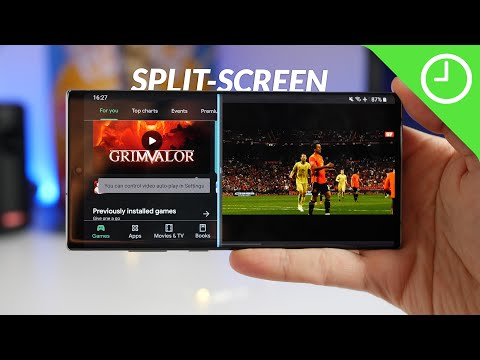 how to get split screen on s9