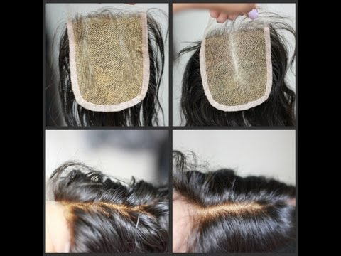 HOW I: SUCCESSFULLY BLEACH MY KNOTS ON LACE CLOSURE
