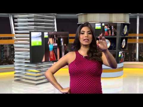 Isis Valverde Torce 'decotada' Pelo Brasil - TV Fama 23/06/2014