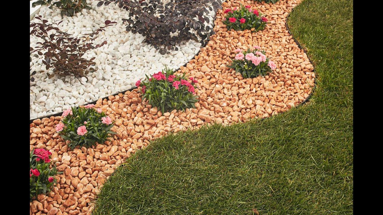 Video guida aiuola fol nde giardini in pietra naturale for Aiuole giardino con sassi