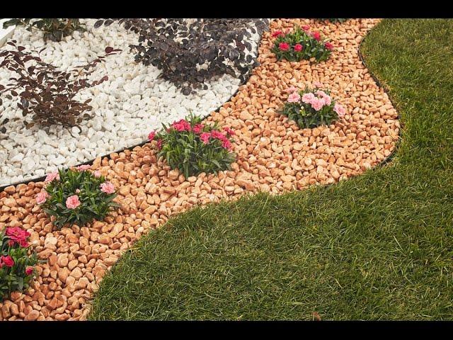 Aiuole con sassi elegant ciottoli per pertaining to freddo aiuole con sassi with aiuole con - Giardini con pietre bianche ...