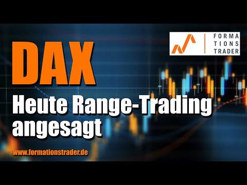 Dax: Heute Range-Trading angesagt