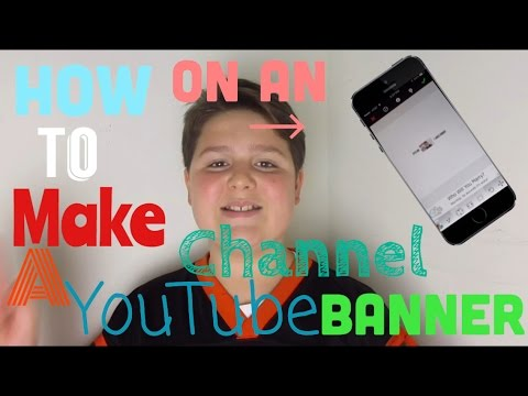 how to change youtube banner on iphone