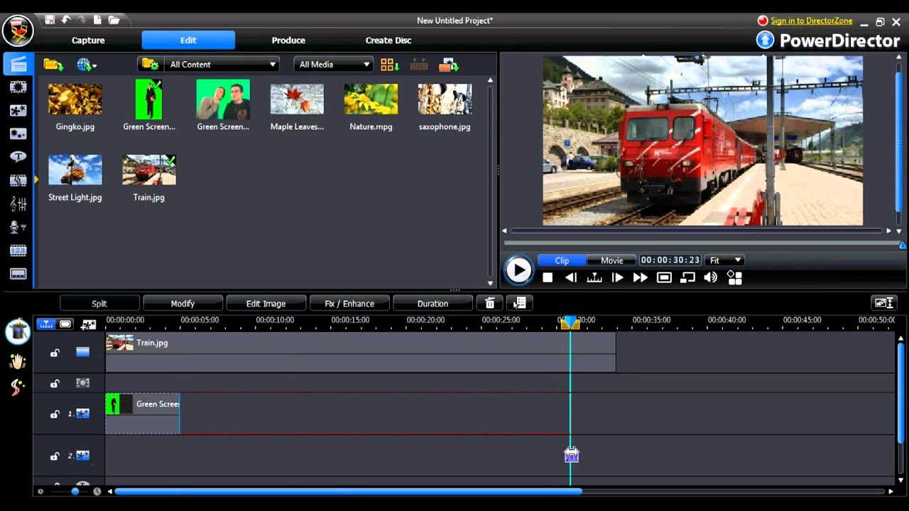 PowerDirector is an editing tool created by Cyberlink and which users can download to take advantage of its professional features for creating and editing high-definition video. This free trial allows enjoying the functionalities of the previous version 10 plus some enhancements.