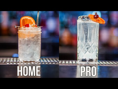 How To Make Collins Cocktail Home | Pro
