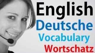 Video#61 Deutsch-Englisch Wortschatz Übersetzung German English Sehr Geehrte Damen Und Herren