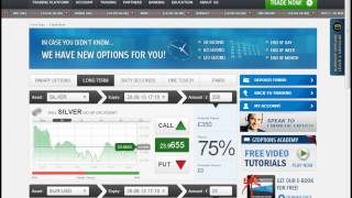 GTOptions -- How to Trade Long Term Binary Options