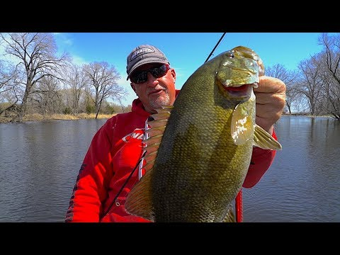 Early Spring Smallmouths / Smallmouth TIPS/TRICKS