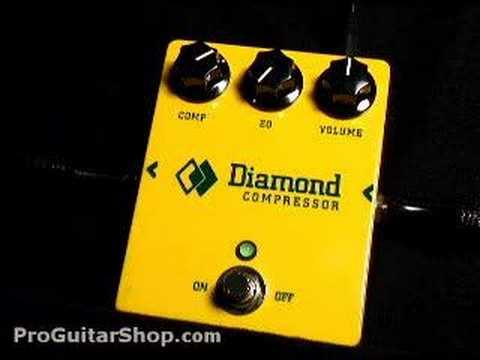 Diamond Compresor de pedal para guitarra