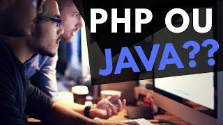 PHP ou JAVA? Qual a melhor linguagem? - Parte 82 de 100