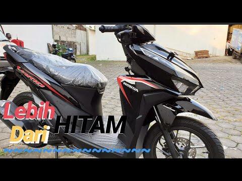 Honda Vario 125cbs 2019 Lebih Hitam Youtube