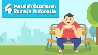 [Motion Grafis] 4 Masalah Kesehatan Remaja Indonesia