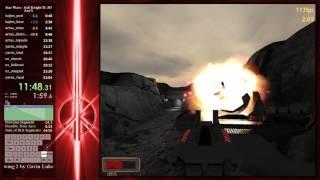 49:10 JK2 - Jedi Outcast Any% Speedrun