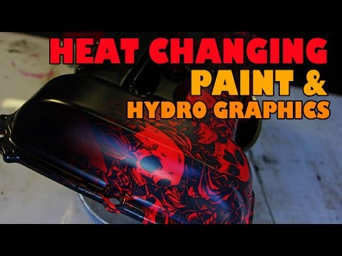 Heat Changing Paint and Hydrographics