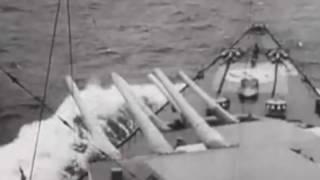 KMS Scharnhorst & KMS Gneisenau un Norveç açıklarında İngiliz uçak gemisi HMS Glorious u batırmaları