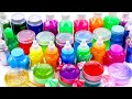 Mixing All Color Slime Smoothie For Kids| Learn Colors With Surprise Toys,Satisfying Slime Videos