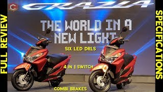 2018 Honda Grazia Scooter Full Review and Specifications | Price and Mileage | Happy Journey