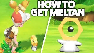 How to get Meltan in Pokemon Let's Go Pikachu/Eevee