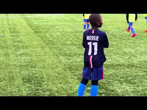 Le futur espoir du foot francais Messie Mbuku