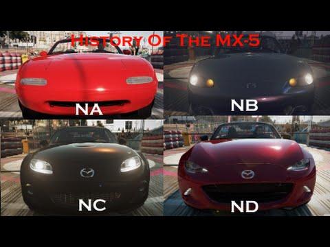 Mazda Miata Na Vs Nb – Idées d'image de voiture