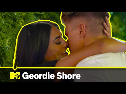 Abbie Holborn Has Her First Neck On With New Lad Charlie | Geordie Shore: Hot Single Summer