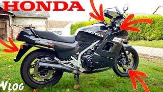 Premières modifications sur ma nouvelle moto
