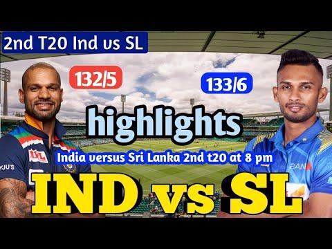 India vs Sri Lanka 2nd T20I Highlights: SL win low scoring thriller ...