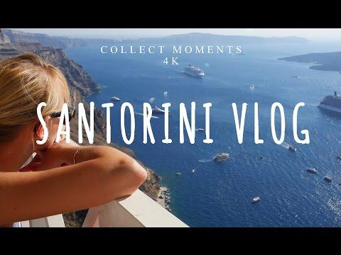 SANTORINI VLOG 4K | Greece costa cruise | DAY 4