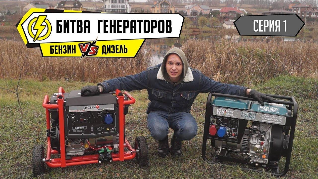 Forte FG 2500 генератор бензиновый - YouTube
