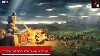 5 Jogos Parecidos Com Clash Of Clans [TOP 5: Android]