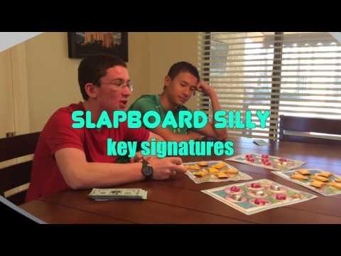 SlapBoard Silly - Key Signatures