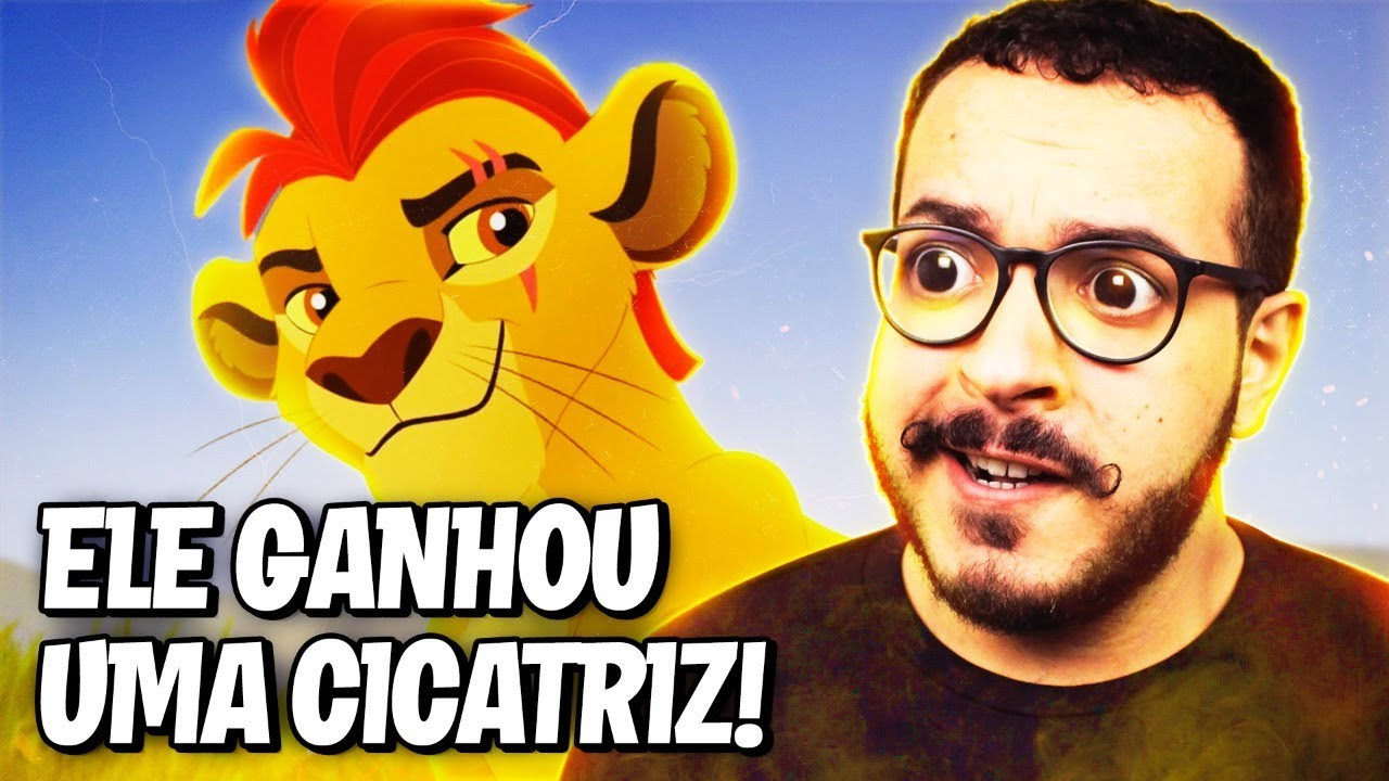 O Rei Leão: O KION GANHOU UMA CICATRIZ!