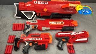 Домашние сражения игрушек ↑ Оружие нёрфы, пистолеты, автоматы, пулемёты ↑ Обзор игрушек