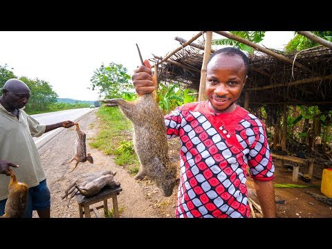 West African Food - EXOTIC DELICACY in GHANA!