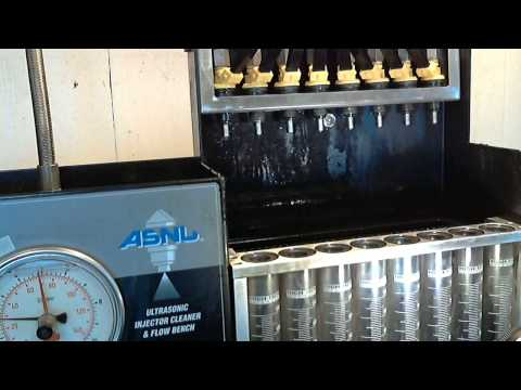 Accel LT1 Injector Flow Tests