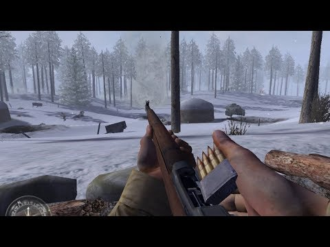 Very Dynamic Winter Combat from WW2 FPS Game Call of Duty United Offensive thumbnail