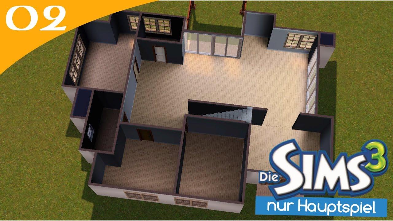 Hausbau Reihe 1 02: Ohne Erweiterungen [Letu0027s Build Sims 3 Haus]