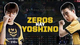 GAM vs FTV: Zeros hay Yoshino? Thôi thì cả hai. [GAM Esports Highlight]