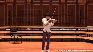 Paganini Caprice No. 2, Op. 1~ In Mo Yang (LIVE)
