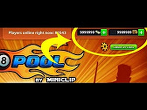 هكر فلوس في لعبة hacker coins 8 ball pool android