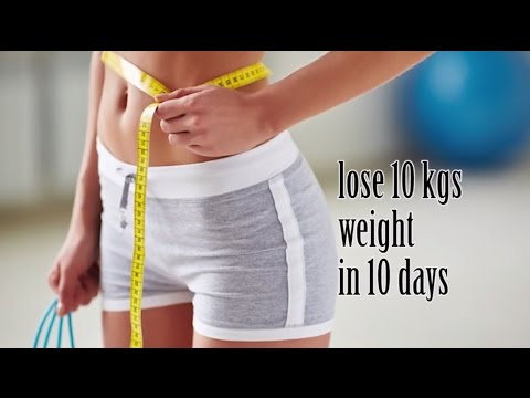 HOW TO LOSE WEIGHT FAST 10Kg in 10 Days | Weight Loss Body Transformation