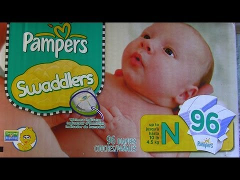 Pampers Swaddlers Diapers - Wetness Indicator Review