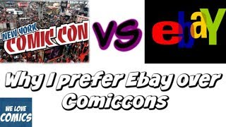 Comics that show why I prefer Ebay over Comiccons.