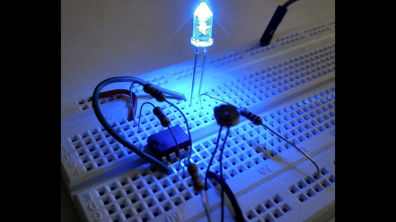 How to make dark sensor l Op amp projects