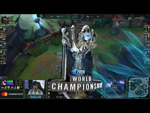 [S-VOD Review] FNATIC vs IG Worlds Game 2