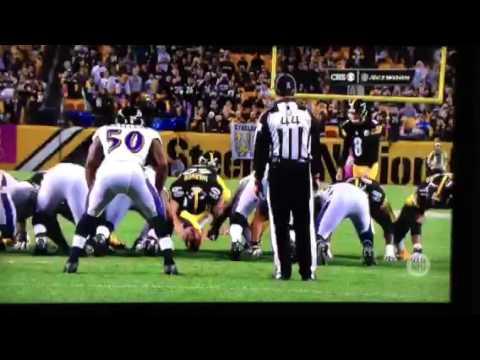 Steelers vs. Ravens 2015 Josh Scobee