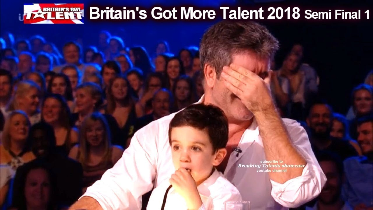 Download Simon Cowell and son Eric who Steals the Show  Britain's Got Talent 2018 Semi Final  BGT S12E08